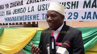 Ufunguzi jengo la Usuluhishi Mahakama ya Kadhi.