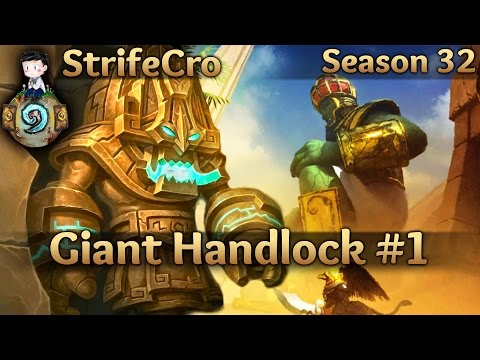 Hearthstone Giant Handlock S32 #1: Giants are Back!