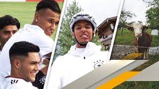 Behind the Scenes: So viel Spaß hat Deutschlands U21 vor der EM   SPORT1