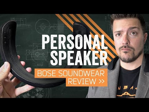Bose SoundWear Review: A Speaker You Can Wear