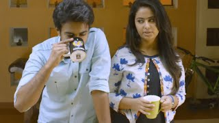 Lovely Romantic Proposal Scene between Avika and Santhosh - Thanu Nenu Movie - Ravi Babu - Ram Mohan
