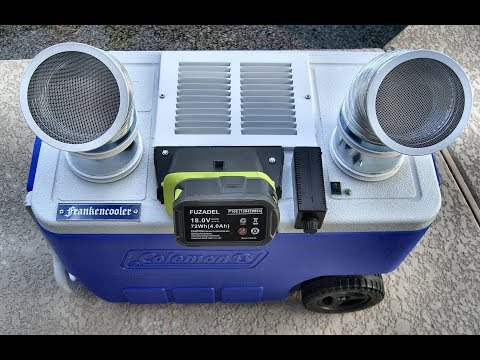 ICE CHEST AIR CONDITIONERS - WHAT WORKS WHAT DOESN'T