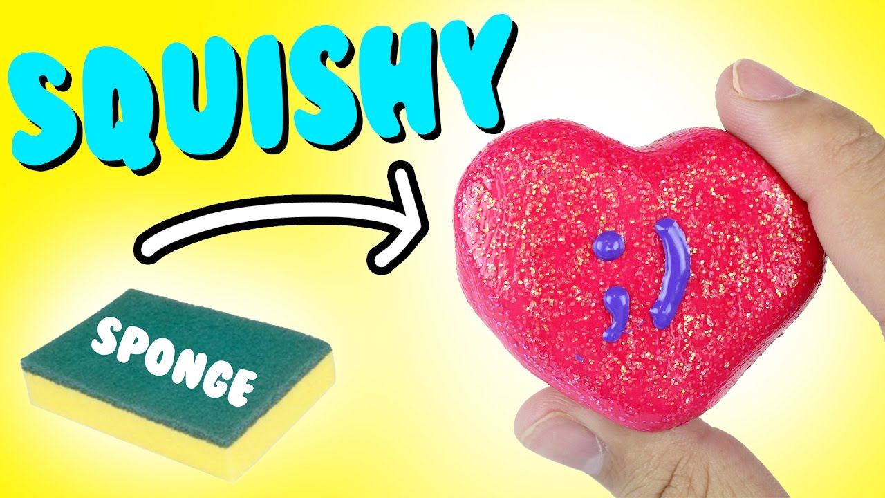 DIY Conversation Heart Squishy HOW TO MAKE A SLOW