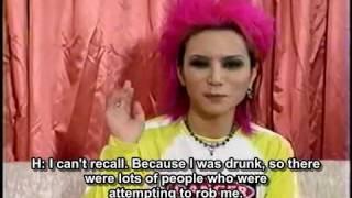 English Subs X JAPAN Hide Beauty And Stupid Studio Live 1996