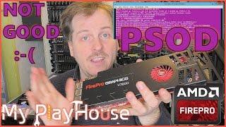 AMD FirePro v7900 Results in Purple Screen of Death - 496
