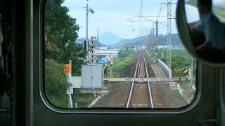 2016.08.26 山陰本線 280M 荒島→安来