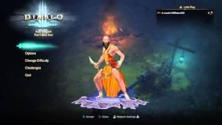 Diablo 3 reaper of souls gameplay monk