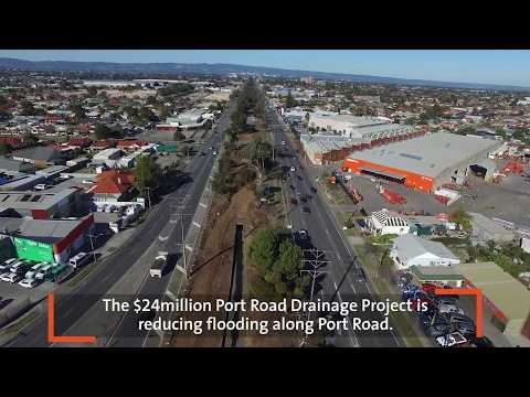 Port Road Drainage Project - June 2017