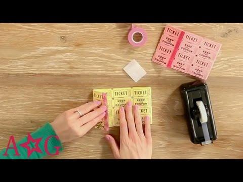 DIY Raffle Ticket Wallet | Crafts & DIYs | American Girl