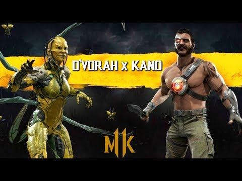D'VORAH AND KANO GAMEPLAY REVEALS COMING TOMORROW! - MORTAL KOMBAT 11 thumbnail