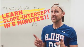 Slope-Intercept Form y=mx+b [Tarver Academy]