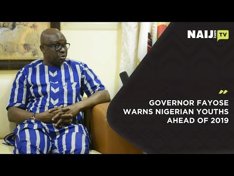 Governor Fayose Warns Nigerian Youths Ahead of 2019, Tells Them What to Do | Legit TV Mp3