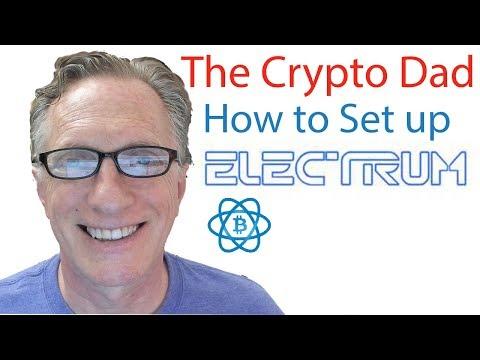 Set up Electrum