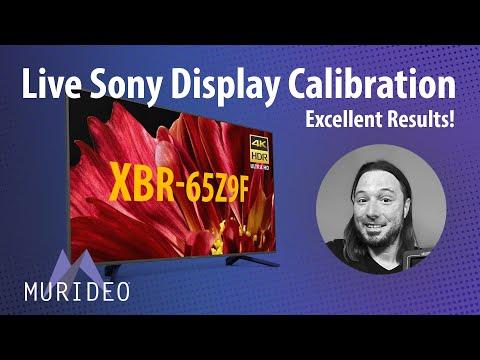 Sony 65Z9f manual