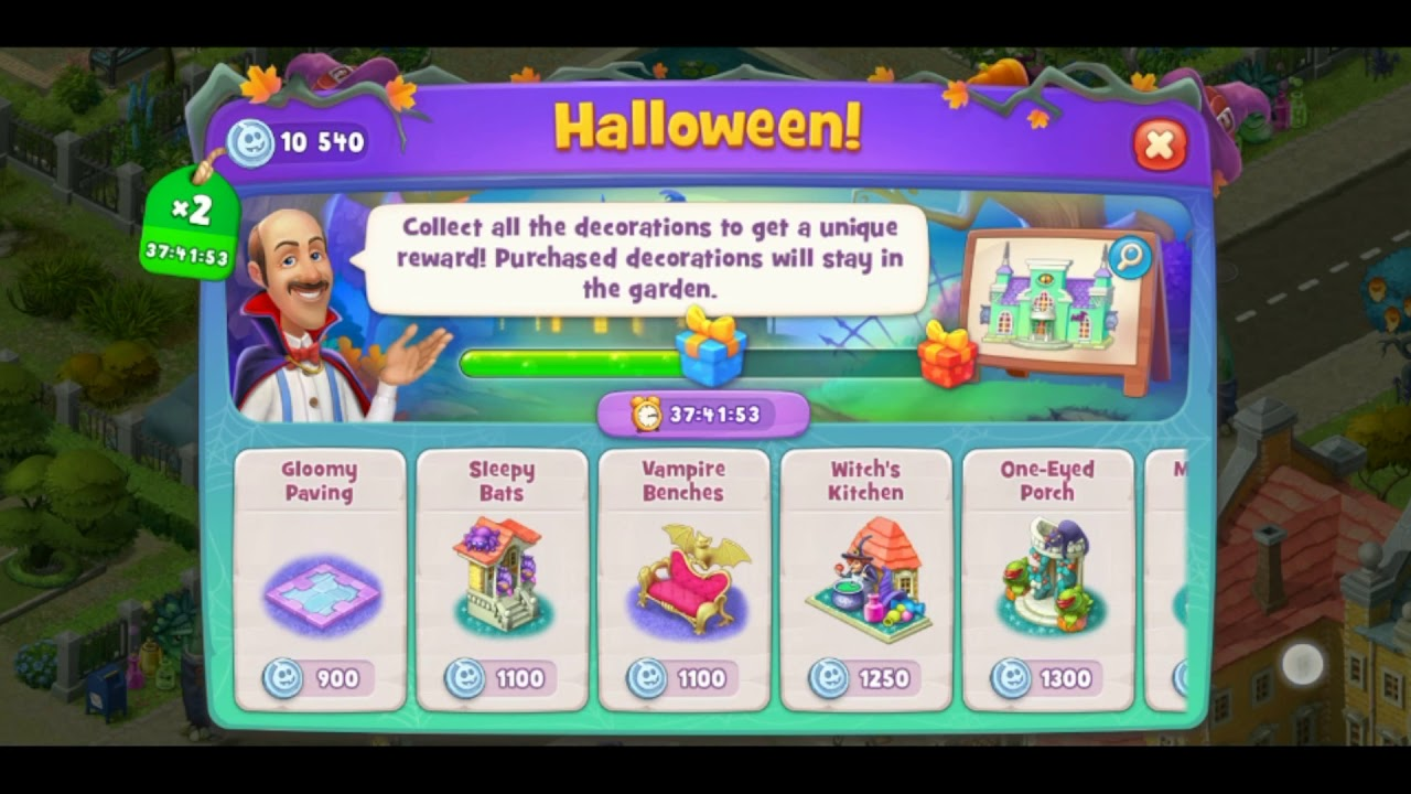 Is There A 2020 Halloween Collection Event Happening On Gardenscapes Playrix Gardenscapes Halloween Event Collection & Walkthrough