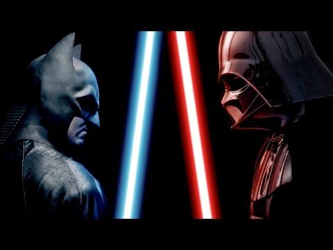 BATMAN vs DARTH VADER - ALTERNATE ENDING - Super Power Beat Down