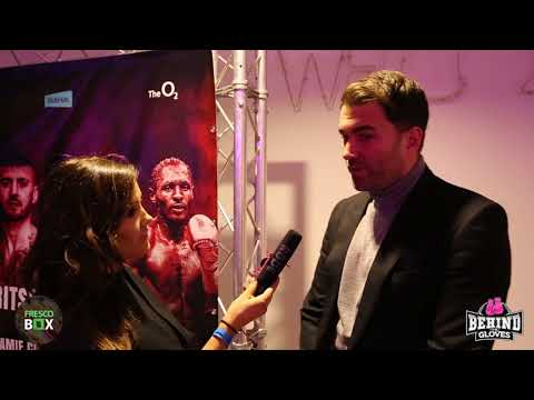 EDDIE HEARN'S REACTION TO DILLIAN WHYTES KO VICTORY PLUS FEAR FACTOR OF AJ VS PARKER NEXT WEEKEND