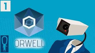 Orwell Game - Gameplay Episode 1 The Clocks Were Striking Thirteen - Part 1 Big Brother Is Watching