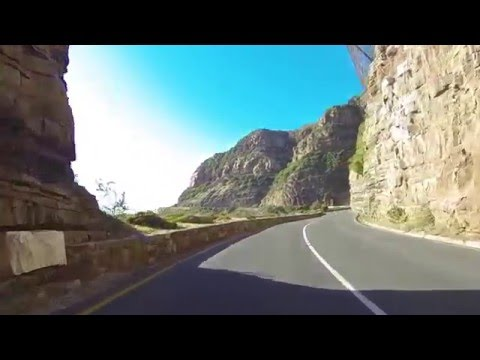 Chapman's Peak Drive - Both directions in full HD with GoPro mounted on vehicle