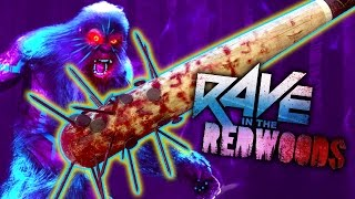 MELEE ONLY CHALLENGE - RAVE IN THE REDWOODS (Call of Duty Zombies: Infinite Warfare)