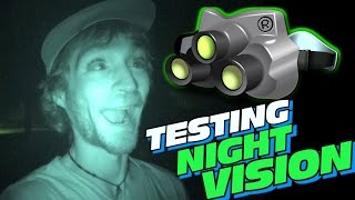 Testing EXO's Night Vision Camera!