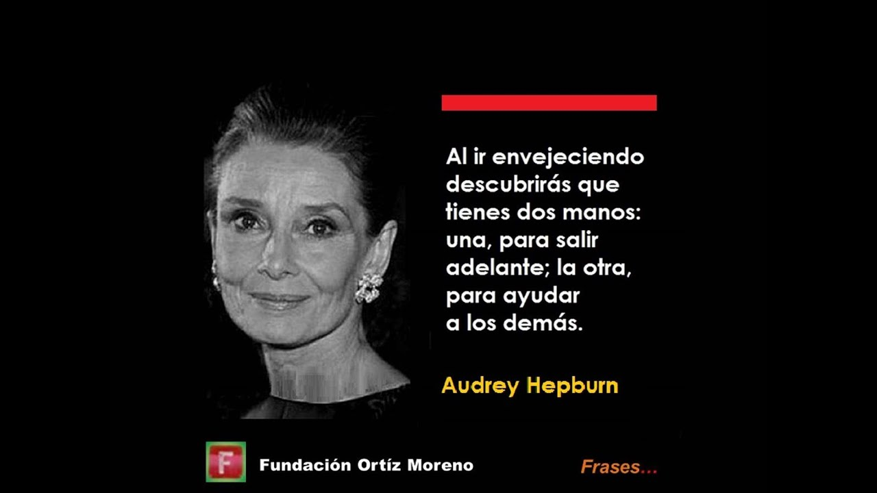 Frases De Grandes Personajes Audrey Hepburn 01
