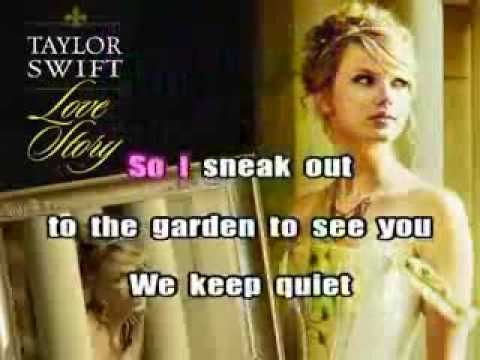 TAYLOR SWIFT LOVE STORY INSTRUMENTAL