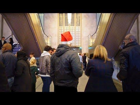 HARRODS CHRISTMAS SHOPPING [4K] LONDON WALK TOUR