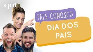 Marcos Piangers e Paizinho vírgula falam sobre o Dia dos Pais | #83 | Fale Conosco | Júlia Rabello