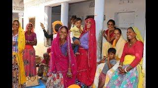 DAY IN THE LIFE - Visit to a small village in India, Rajasthan