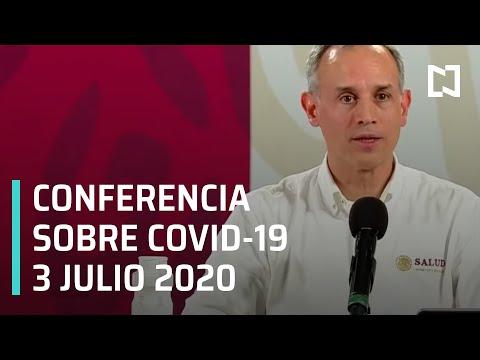 Conferencia Covid-19 México - 3 julio 2020