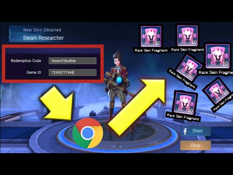 """HOW TO GET FREE """"RARE SKIN FRAGMENTS"""" IN MOBILE LEGENDS ..."""