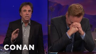 Kevin Nealon Has A Very Important Meeting To Get To  - CONAN on TBS