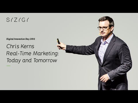 """DID15 / Chris Kerns """"Real-Time Marketing: Today and Tomorrow"""" [EN] (2015)"""
