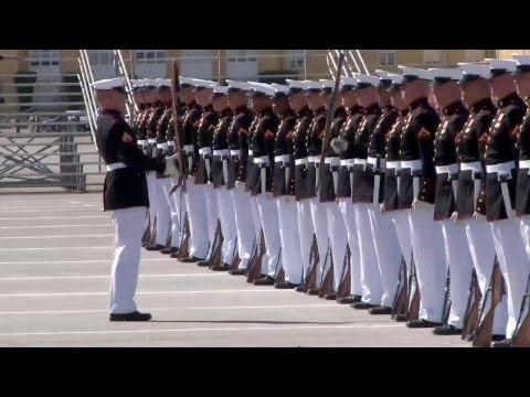 U.S. Marine Corps Silent Drill Platoon