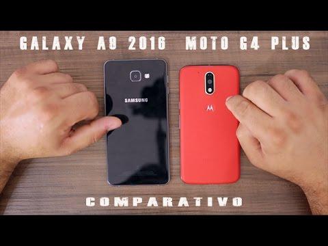Galaxy A9 2016 Vs Moto G4 Plus - Comparativo
