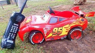 McQueen preso na lama | Patrulha de pata para o resgate.