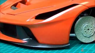 Costruisci LaFerrari in scala 1:8 – Tutorial 74