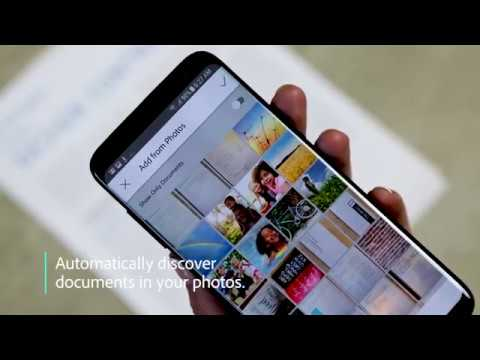 Adobe Scan now uses AI to surface docs, business cards, and receipts