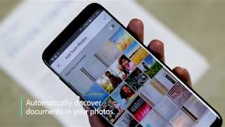 Quickly find pictures of documents and receipts in your photos with the Adobe Scan mobile app thumbnail