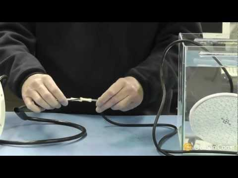 Making an Under Water Light Cable Joint   Andy's Answers