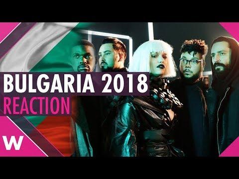"Bulgaria | Eurovision 2018 reaction video | ""Bones"" Equinox"