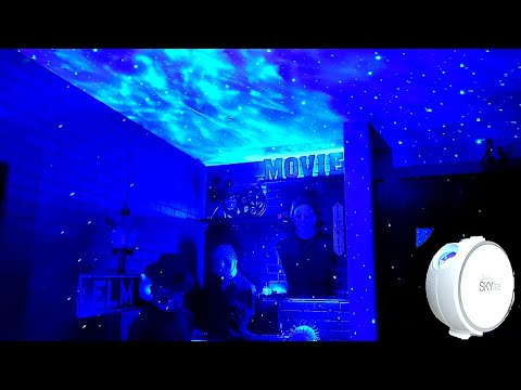 Blisslights Sky Lite Projection || Horror Cinema Room