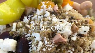 Greek Power Bowl Recipe - How to Make Incredibly Delicious Greek Power Bowls