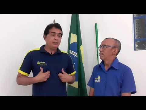 Professor Cláudio fala sobre a reunião do Rotary Club de Floriano Princesa do Sul