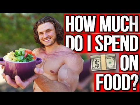 FULL DAY OF VEGAN EATING FOR MUSCLE | What I Spend On Groceries Weekly
