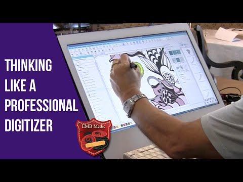 How To Edit A Machine Embroidery Design As A Digitizer - Embroidery Medic
