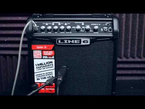 Line 6 Spider IV 15 - Metal