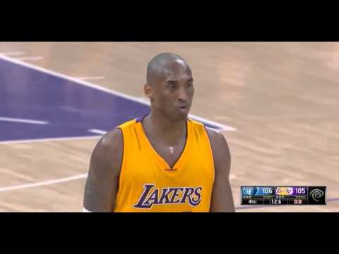 Kobe Bryant Went Mad - Screaming At Jeremy Lin To Foul Mike Conley |2,Jan,2015|