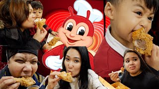Church and Family day out with Jollibee